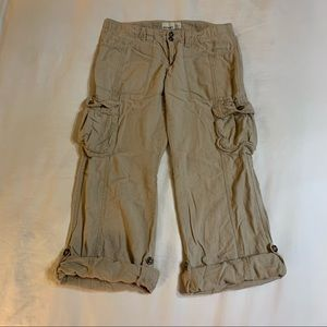 OLD NAVY Linen Blend Cargo Pants